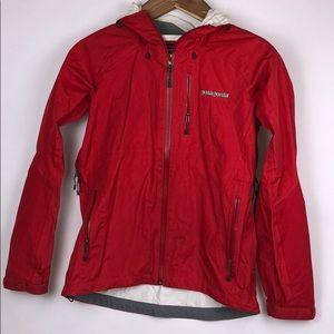PATAGONIA Women's Raincoat w/ Hood Red